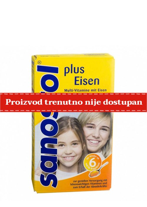 Sanostol Plus gvožđe sirup 230 ml