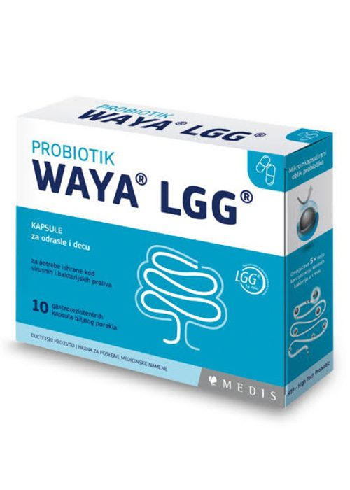 Waya LGG Probiotik 10 kapsula