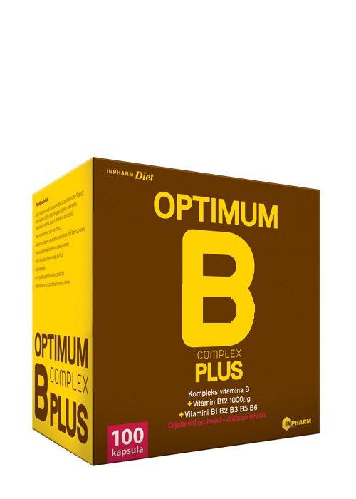 Optimum B Complex Plus 100 kapsula